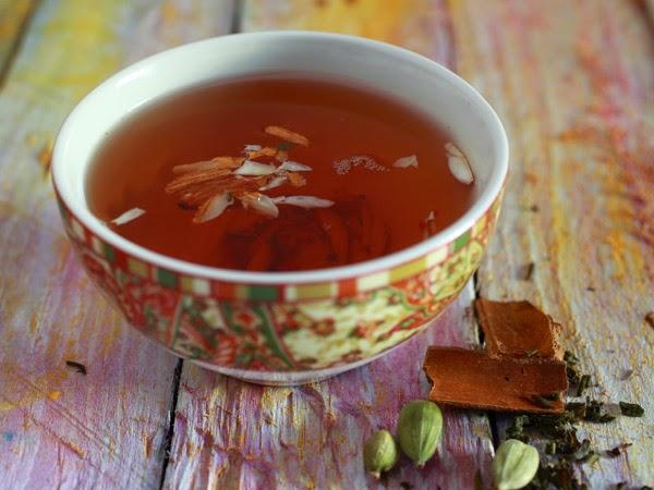 The Healthy Kashmiri Kahwa Tea