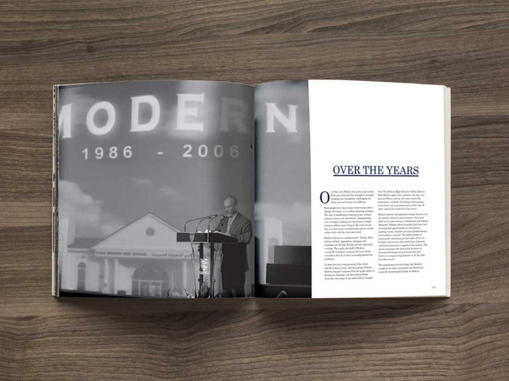 GEMS Modern Academy Coffee TableBook