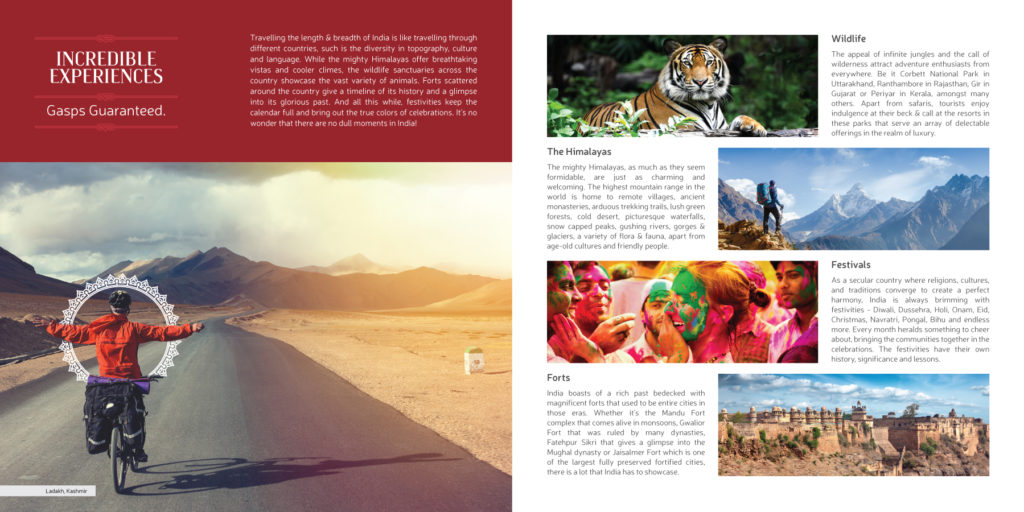 Incredible India Brochure Sahil Banga